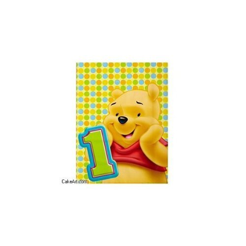 Winnie the Pooh 1st Birthday Party Treat Bags