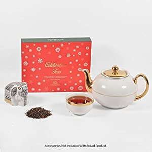 The Best Tea Gift for Holiday Celebrations-10 DIFFERENT and Special -From INDIA and NEPAL- Black and Green TEAS- With Premium Quality Gift Packaging- Packed At Source to Retain Freshness.