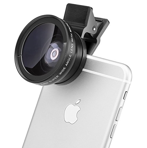 MACTREM-2-In-1-Clip-On-Universal-High-Definition-Super-Camera-Lens-Kit-for-iPhone-6-6s-Plus-6s-5s-Samsung-Mobile-Phone-045X-Super-Wide-Angle-Lens125X-Macro-Lens37mm-Thread-Clip-Holder