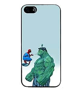 printtech Superhero Avengers Back Case Cover for Apple iPhone 5C