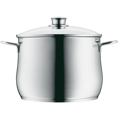 WMF Diadem Plus Stock Pot with Lid, 18/10 Stainless Steel, 20 cm