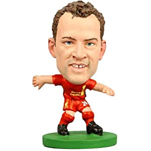 Liverpool F.C. SoccerStarz Adam- charlie adam- soccerstarz figure- 2 inches tall- with collectors card- in blister pack- Official Football Merchandise by Limited Stock / Collectables