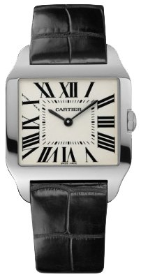 Cartier New Cartier Santos-dumont Small Solid 18k Gold Watch W2009451