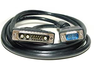 Monoprice 100089 6-Feet HD15 Male to 13W3 Male(Sun) Cable