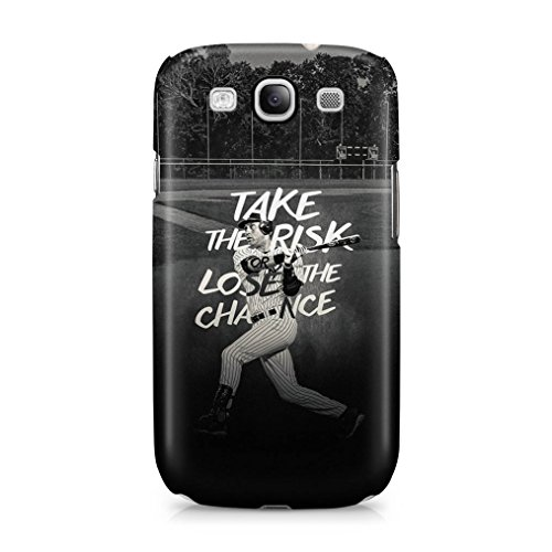 Baseball Take The Risk Or Lose The Chance Hard Plastic Phone Case Cover Shell For Samsung Galaxy S3 (Baseball Samsung Galaxy S3 Case compare prices)