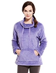 Petite Funnel Neck Supersoft Bed Jacket