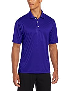 Adidas Golf Men's Climacool Diagonal Textured Solid Polo Shirt from Adidas Golf