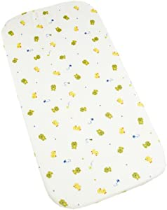 Carters Super Soft Printed Changing Pad Cover, Frog (Discontinued by Manufacturer)