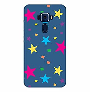 Happoz ASUS Zenfone 3 (ZE520KL) 5.2 Inches Cases Back Cover Mobile Pouches Shell Hard Plastic Graphic Armour Premium Printed Designer Cartoon Girl 3D Funky Fancy Slim Graffiti Imported Cute Colurful Stylish Boys D285