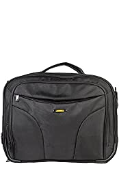 Travel Black 17 Inches Laptop Bag - 5 Pockets
