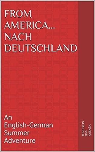 Book Cover - From America...nach Deutschland