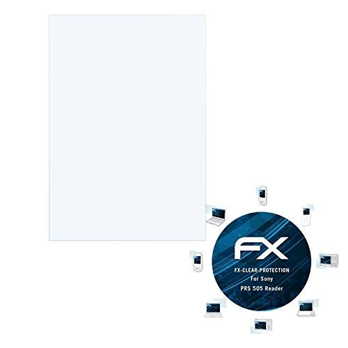 2 x atFoliX Displayschutzfolie Sony PRS 505 Reader Schutzfolie - FX-Clear kristallklar