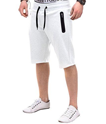BetterStylz -  Pantaloncini  - Uomo bianco XX-Large