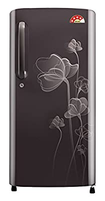LG GL-B201AGHP.AGHZEBN Direct-cool Single-door Refrigerator (190 Ltrs, 4 Star Rating, Graphite Heart)