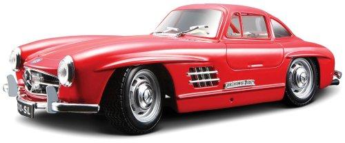 Bburago-15622023-Bijoux-124-Mercedes-Benz-300-SL-1954-sortiert