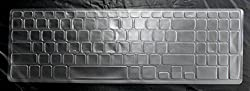 Yashi Laptop Keyboard Protector Cover, Ultra-thin Transparent TPU for Dell 15R with Numeric keypad