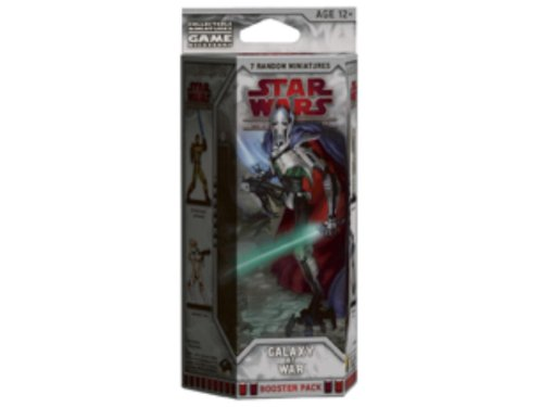 Star Wars Galaxy at War Booster: A Star Wars Miniatures Game Expansion (Star Wars Miniatures Product)