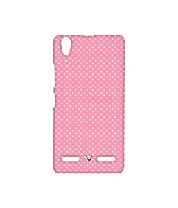 Vogueshell Dotted Pattern Printed Symmetry PRO Series Hard Back Case for Lenovo A6000 Plus