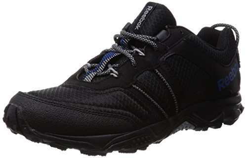 Reebok Trail Voyager Rs 2.0, Scarpe da Nordic Walking Uomo, Nero (Black/Handy Blue/Flat Grey), 43 EU