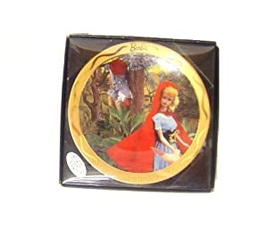 Barbie Miniature Collectors Plate Little Red Riding Hood