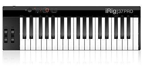 IK-Multimedia-IP-IRIG-KEYS-37-PRO-IN-37-Standard-Teclas-MIDI-controlador-de-teclado-para-Mac-PC-con-el-cable-USB