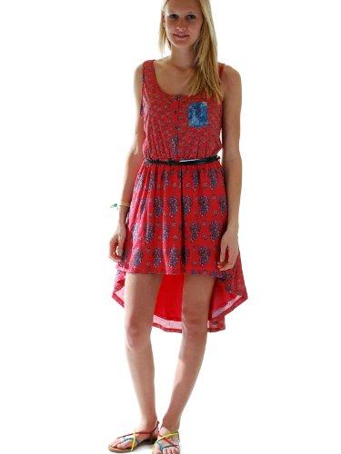 Vestito Khujo Uele rosso Small
