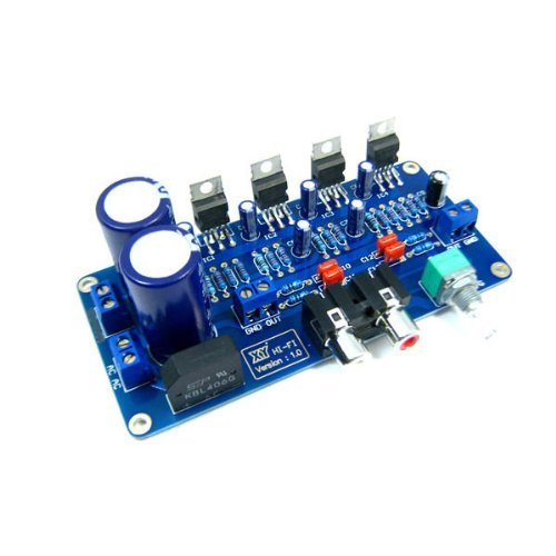 Tda2030A Digital Stereo Audio Power Amplifier 34W+34W Dual Channel Btl Circuit Amp Board Diy Kit