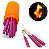 Jackie 10 Packs Portable Extra-large Head Windproof Waterproof Matches