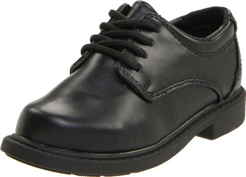 Hush Puppies Dylan Oxford (Little Kid/Big Kid),Black,2 M Little Kid