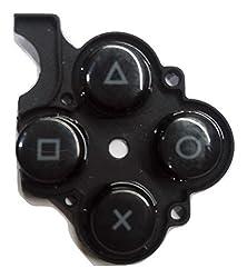 PSP 3000 PSP E1000 X,Triangle,Box ,Circle Button Replacement Part Repair Part