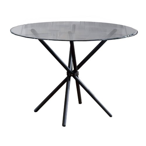 Buy Low Price Scottsdale Round Dining Table With Glass Top 40387 35 B001I6