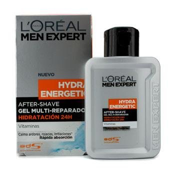 Best Cheap Deal for L'Oreal Men Expert Hydra Energetic After Shave Multi-Repairing 24H Hydration Gel 100ml/3.3oz from L'Oreal - Free 2 Day Shipping Available