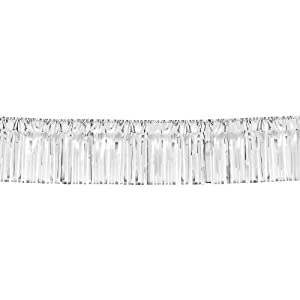 Silver Fringed Garland 20ft