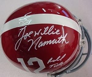 Joe Willie Namath Autographed Hand Signed Alabama Full Size Helmet Roll Tide!!! UDA... by Hall+of+Fame+Memorabilia