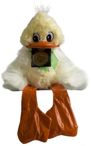 Skoodlez Duck - Flapjack, Yellow, White and Orange
