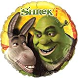 "Single Source Party Supplies - 18"" Shrek and Donkey Mylar Foil Balloon"