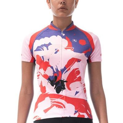 Buy Low Price Giordana 2011 Women's Poppy Short Sleeve Cycling Jersey – gi-s1-wssj-arts-popp (B004VJZ34O)