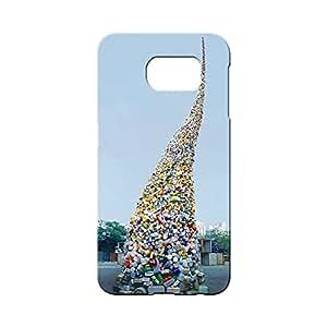 BLUEDIO Designer 3D Printed Back case cover for Samsung Galaxy S6 Edge Plus - G4542