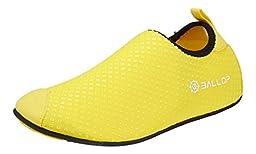 Ballop Unisex Aqua Fit V1 Aqua Shoes, Diamond Yellow, S