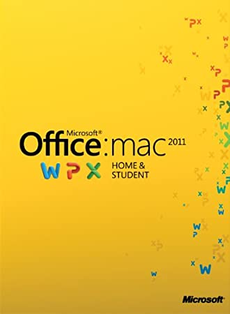 Office für Mac 2011 Home & Student - Family Pack - 3MACs/1User  [Download]