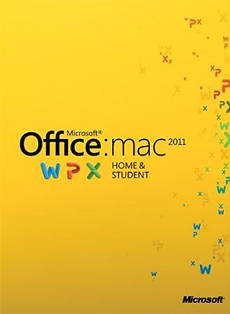 Office für Mac 2011 Home & Student - 1MAC/1User [Download]