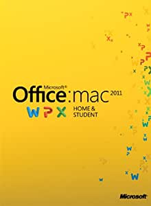 Microsoft Office Mac Home and Student 2011 - 1MAC [Download]