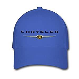 Niseyba Unisex Adults Royal blue Chrysler Logo Baseball Caps Adjustable