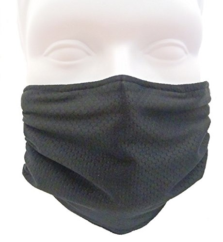 Breathe-Healthy-Honeycomb-Black-Mask-Flu-Mask-Dust-Mask-Allergy-Mask-Comfortable-Reusable-Protection-from-Dust-Pollen-Allergens-Flu-Germs