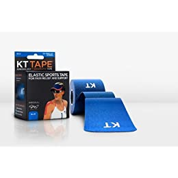 KT TAPE Original Cotton Elastic Kinesiology Theraeputic Tape - 20 Pre-Cut 10
