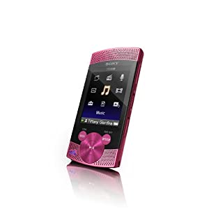 Sony Walkman NWZS544PNK S Series 8 GB Video MP3 Player (Pink)