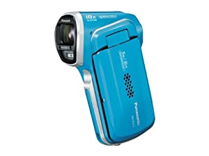 Panasonic デジタルムービーカメラ 防水仕様 ブルー HX-WA3-A