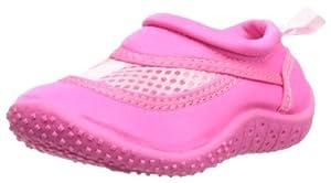 i play. Unisex-Baby Infant Swim Shoes, Hot Pink, 4