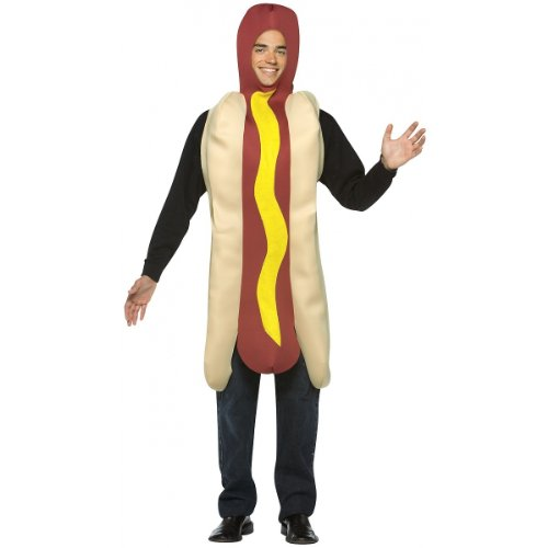 Hot Dog Costume - One Size - Chest Size 42-48