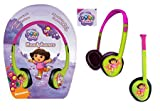 (Little Star) Dora the Explorer Kids Headphones (Age 4+)